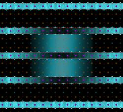 light-induced redistribution of interlayer coupling in YBCO